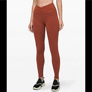 "NWT Lululemon Always On HR 28"" Tight"